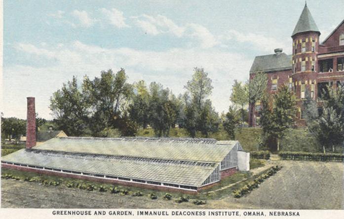 Immanuel Deaconess Institute greenhouse, North Omaha, Nebraska