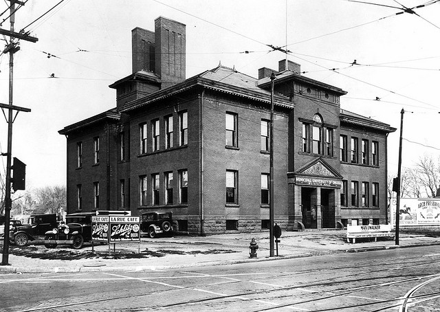 Omaha University Science Hall, North 24th and Ames Avenue, North Omaha, Nebraska