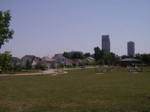 Logan Fontenelle Park N 21st and Charles Streets North Omaha Nebraska
