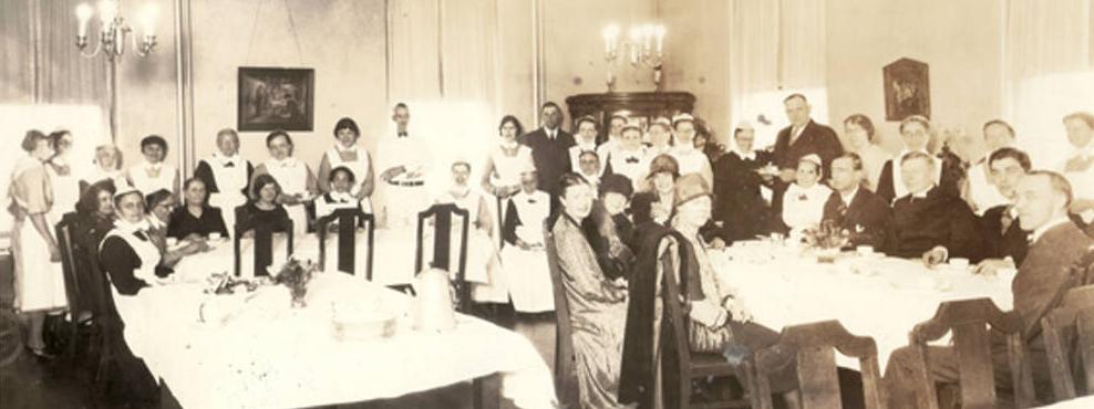 1927 Prince Wilhelm of Sweden, Immanuel Deaconess Institute, North Omaha, Nebraska