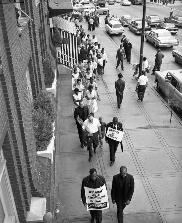 June 1963 4CL civil rights protest Omaha Nebraska