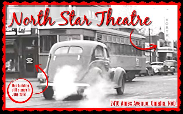 North Star Theatre, 2416 Ames Avenue, North Omaha, Nebraska