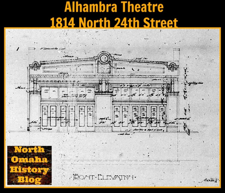 Alhambra Theater, 1814 North 24th Street, North Omaha, Nebraska