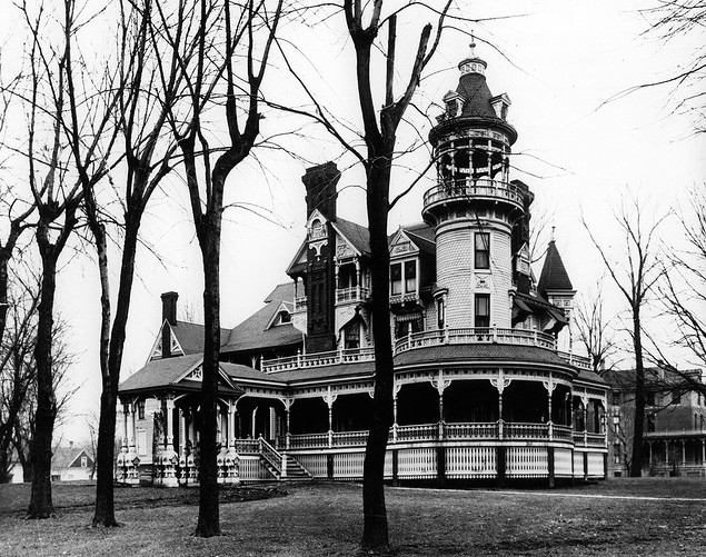 Redick Mansion, aka the Mayne Mansion, aka Omaha University Redick Hall, 3612 North 24th Street in North Omaha, Nebraska