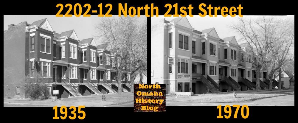 Matburn Apartments, 2202-2212 North 21st Street, North Omaha, Nebraska