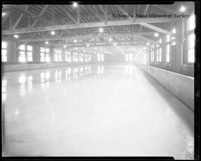 Ice Rink, Fort Omaha, North Omaha, Nebraska