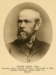 Byron Reed (1821-1891), Omaha, Nebraska