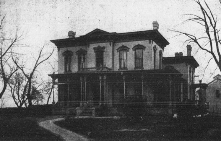 J. J. Brown Mansion, North Omaha, Nebraska