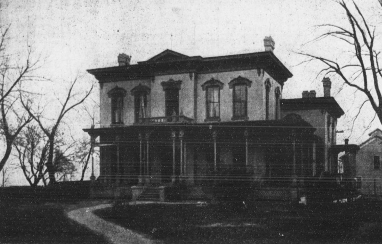 J. J. Brown Mansion, North Omaha, Nebraska