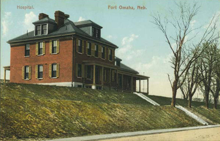 Fort Omaha Hospital, Officer's Row, North Omaha, Nebraska