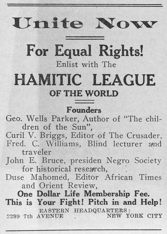Hamitic League of the World, Omaha, Nebraska