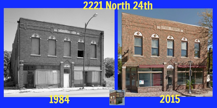 Jewell Building, 2221 North 24th Street, North Omaha, Nebraska