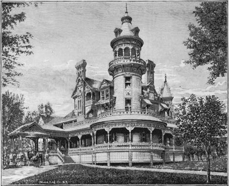 Redick Mansion, aka the Mayne Mansion, aka Omaha University Redick Hall, 3612 North 24th Street, North Omaha, Nebraska