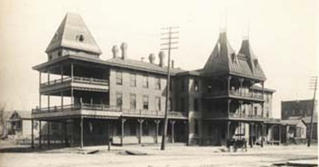 Cozzens House, 9th and Farnam, Omaha, Nebraska