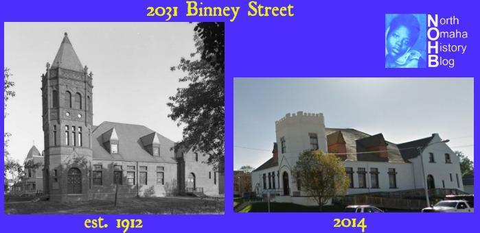 Trinity Methodist Church, 2031 Binney Street, Kountze Place, North Omaha, Nebraska