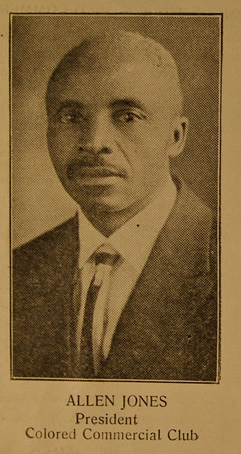 Allen Jones (1870-1952), North Omaha, Nebraska