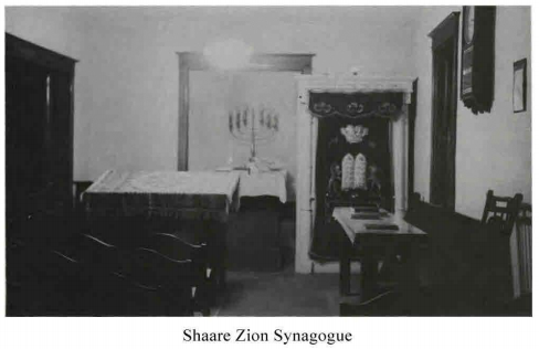 Shaare Zion Synagogue, 1821 North 20th Street