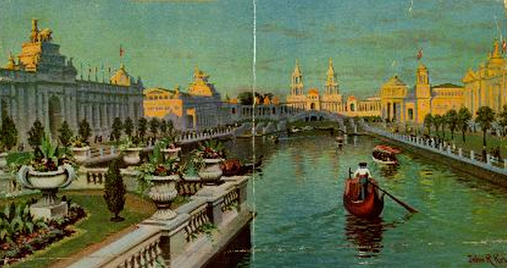 Greater America Exposition Lagoon by John Ross Key
