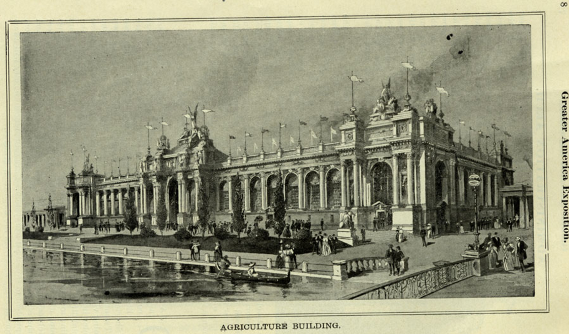 Agriculture Building, Greater America Exposition, North Omaha, Nebraska