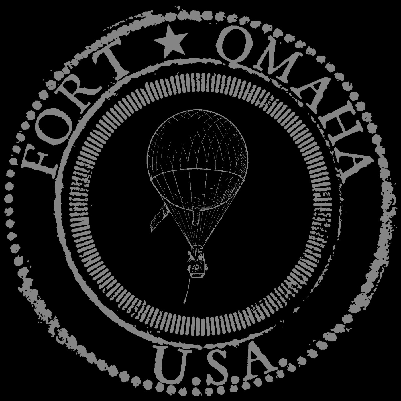Fort Omaha, USA logo designed by Adam Fletcher Sasse