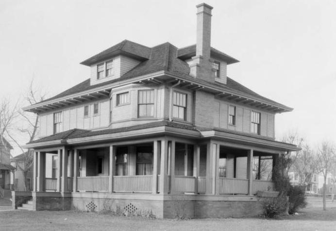 Vanderberg House, North Omaha, Nebraska