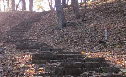 Hummel Park Staircase, North Omaha, Nebraska