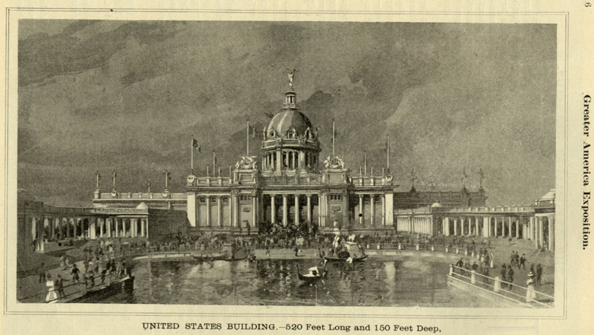 United States Building, Greater America Exposition, North Omaha, Nebraska