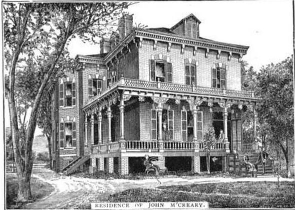McCreary Mansion, N. 24th and Pratt Streets, North Omaha, Nebraska