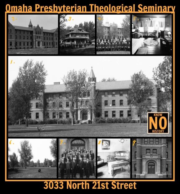 Omaha Presbyterian Theological Seminary, 3033 N. 21st St., North Omaha, Nebraska