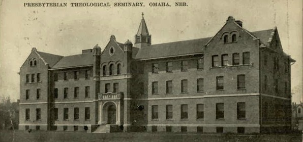 The Omaha Presbyterian Theological Seminary was located on Florence Boulevard and Miami Street for 50 years.