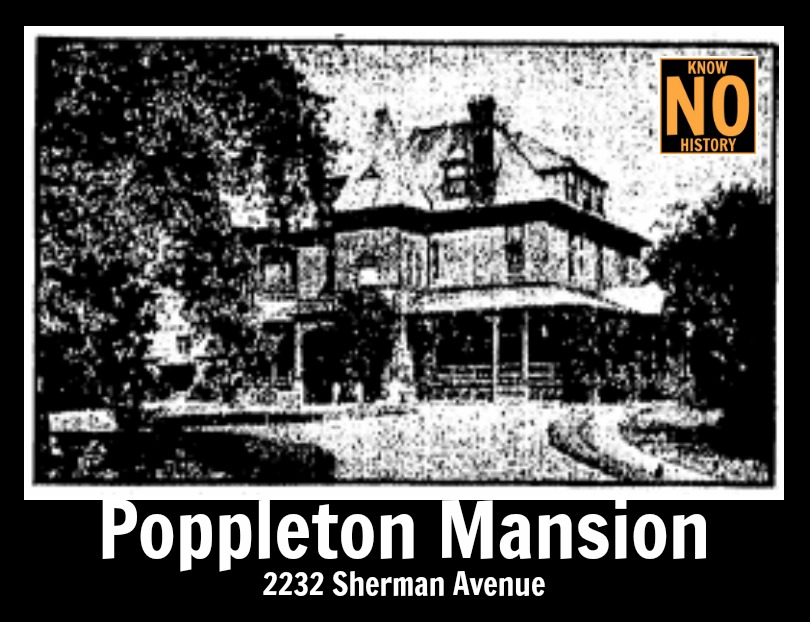Poppleton Mansion, 2232 Sherman Ave., North Omaha, Nebraska