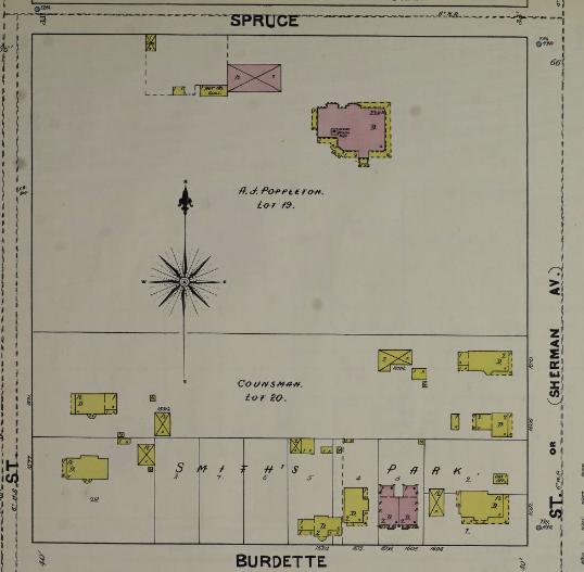 Poppleton Estate, North Omaha, Nebraska