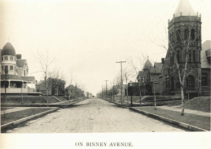 Binney Street, North Omaha, Nebraska