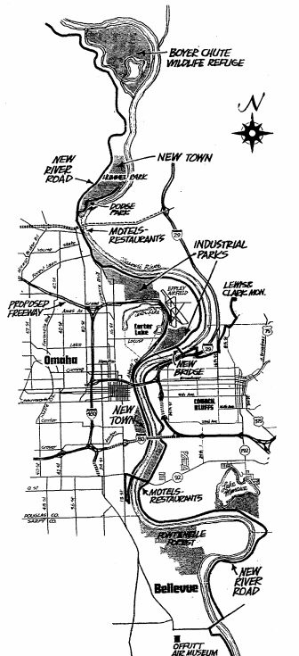 Omaha River Drive 1971
