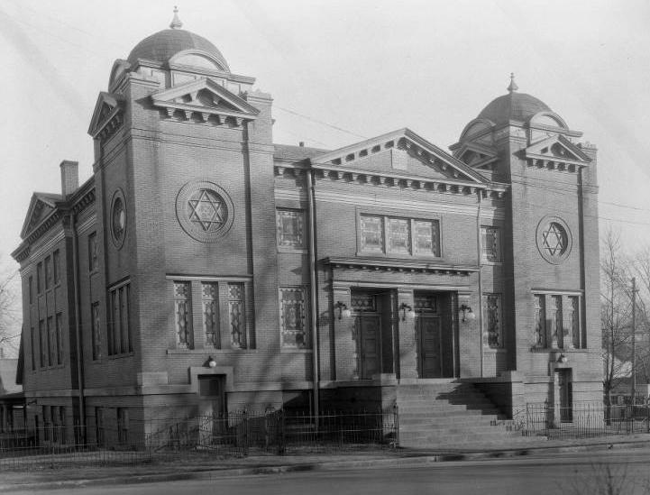 Beth Hamedrosh Hogodel Synagogue, 719 North 19th Street, North Omaha, Nebraska