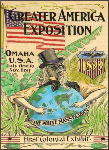 An ad for the Greater America Exposition, North Omaha, Nebraska in 1899