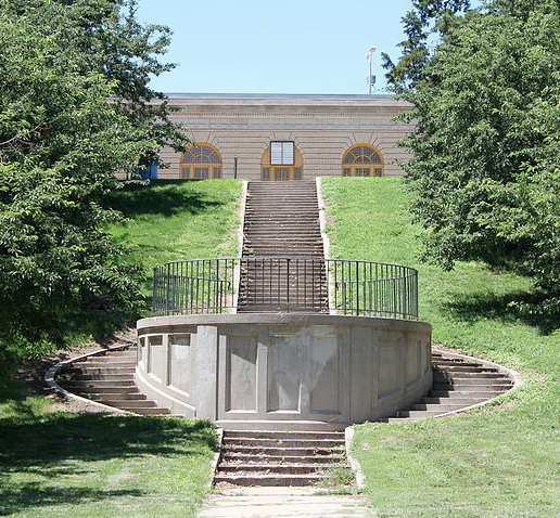 Walnut Hill Fountain, North Omaha, Nebraska