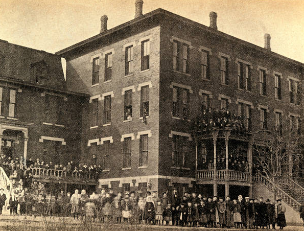 Nebraska School for the Deaf, North 42nd and Bedford Avenue, North Omaha, Nebraska