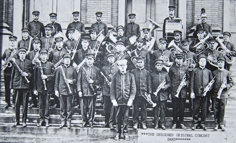 This image of the Dan Desdunes Original Concert Band was circa 1920, and came from the Big Mama's collection.