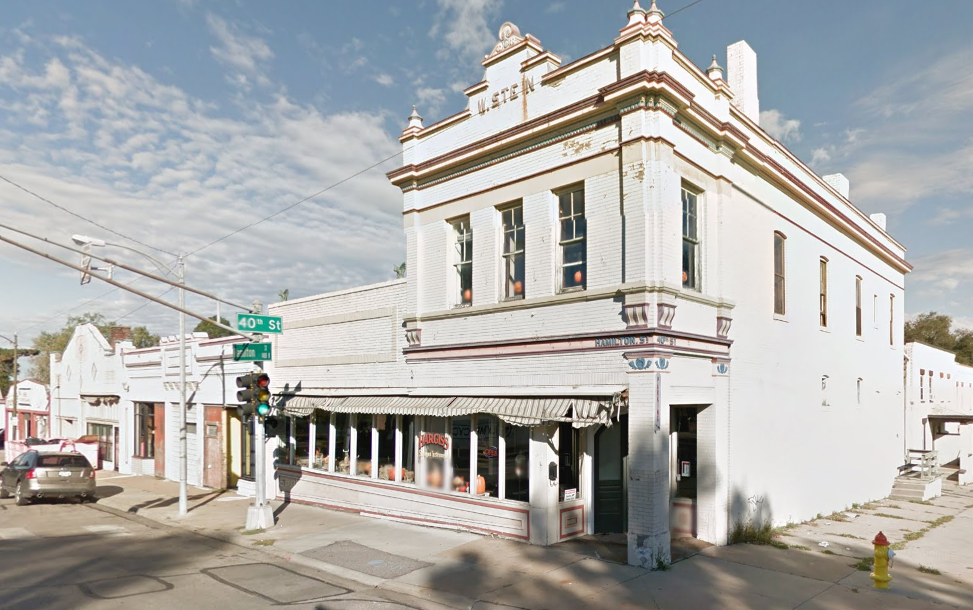 W. Stein Building, North 40th and Hamilton Street, North Omaha, Nebraska