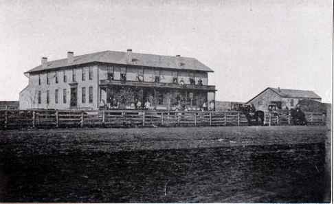 Grand Hotel, Saratoga, Nebraska, 1857