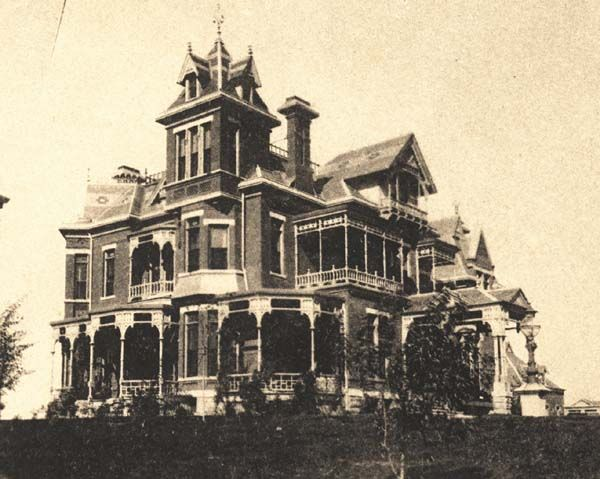 Mercer Mansion, North Omaha, Nebraska