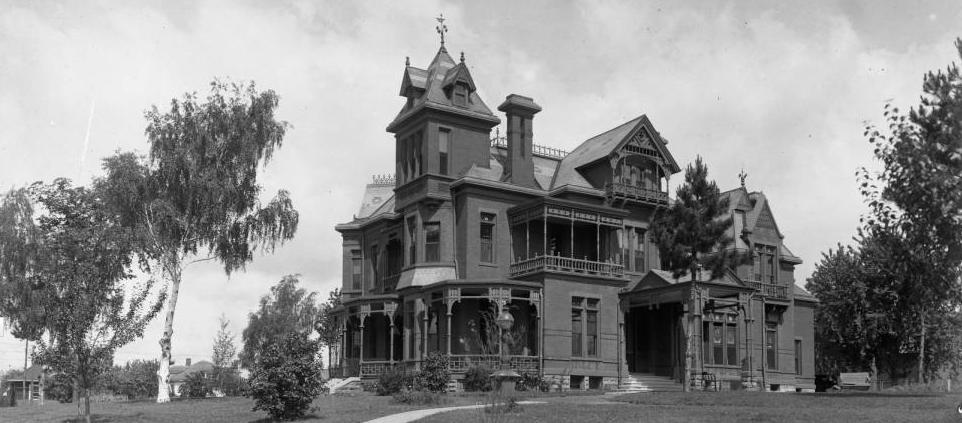 Mercer Mansion, N. 39th and Cuming Streets, North Omaha, Nebraska
