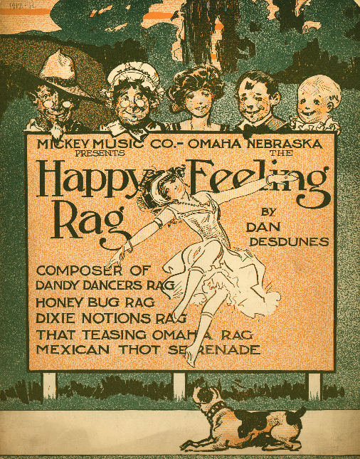 Happy Feeling Rag (1912) by Dan Desdunes
