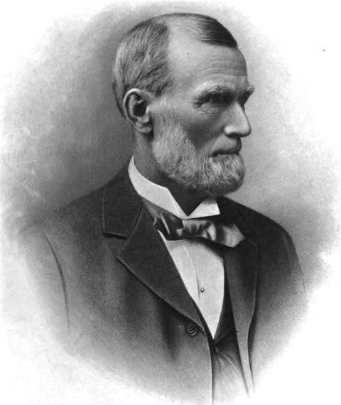 This is Judge George B. Lake of Omaha, Nebraska (1827-1910).
