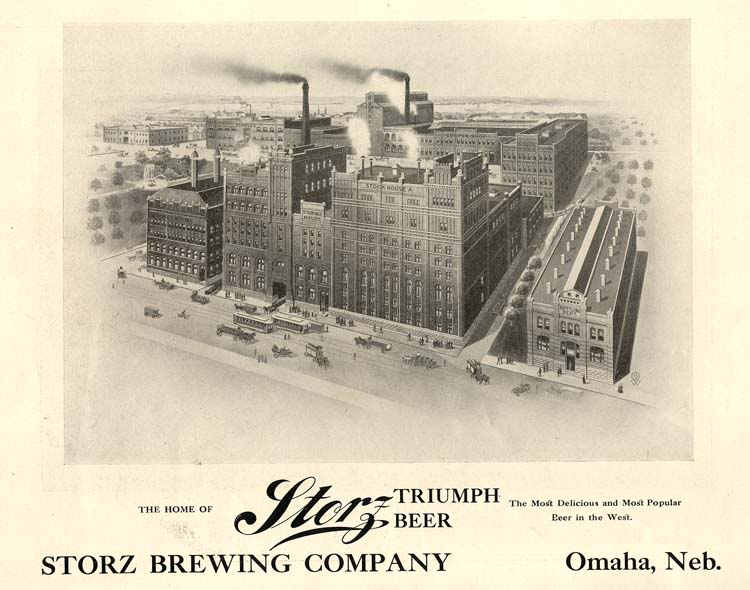 Storz Brewery, 1800 North 16th Street, North Omaha, Nebraska