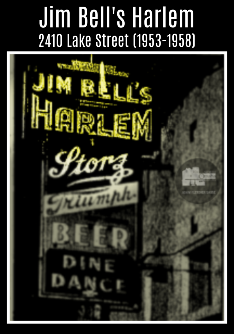 Jim Bell's Harlem, 2410 Lake Street, North Omaha, Nebraska