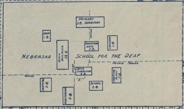 Nebraska School for the Deaf, North Omaha, Nebraska
