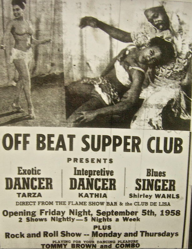 Off Beat Club, North Omaha, Nebraska