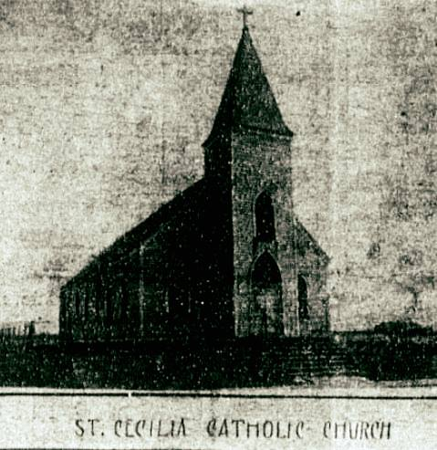 St. Cecilia Church, 4114 Hamilton Street, North Omaha, Nebraska